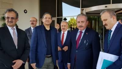 یورپی ممالک کے پارلیمانی اسپیکر کے اجلاس میں شرکت کے لئے ترکی میں پاکستان کا وفد پہنچ گیا