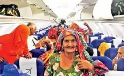 بھارتی نوجوان کا پائلٹ بننے کے بعد گاؤں کے بزرگوں کیلئے فضائی سفر کا تحفہ