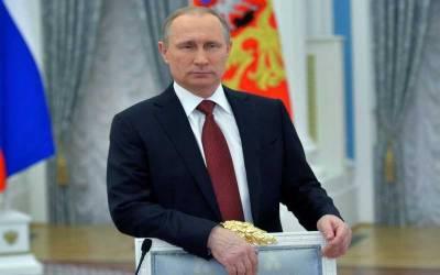 روسی صدر کی عوامی مقبولیت کم ہوکر 39 فیصد رہ گئی۔ سروے