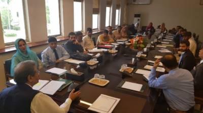 وزیر تعلیم شفقت محمود کی وفاقی نظامت تعلیمات کے ڈیلی ویجزاساتذہ کے وفد سے ملاقات,بیسک ایجوکیشن کمیونٹی سکول اور این سی ایچ ڈی ملازمین کی بھی ملاقات