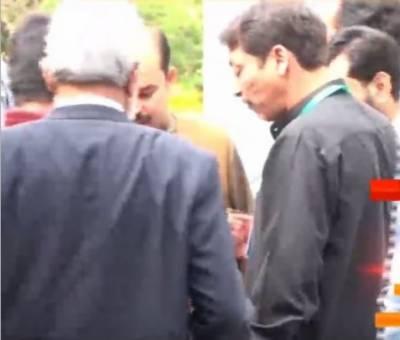 فیصل رضا عابدی 2 روزہ جسمانی ریمانڈ پر پولیس کے حوالے