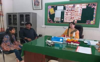 وزیرتعلیم سندھ نے بیٹی کو سرکاری سکول میں داخل کرا دیا۔