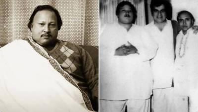 سروں کے بادشاہ استاد نصرت فتح علی خان کا سترواں یوم پیدائش آج منایا جارہا ہے