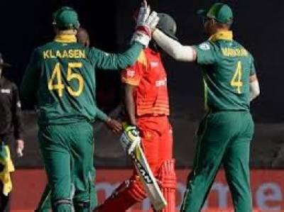 جنوبی افریقہ نے زمبابوے کو دوسرے ٹی ٹونٹی میں چھ وکٹوں سے شکست دیدی