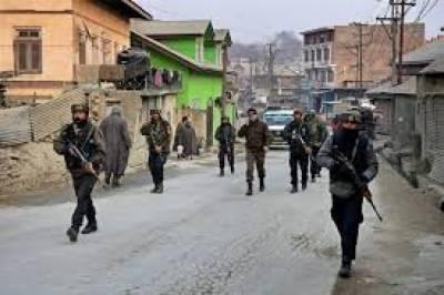 مقبوضہ کشمیر میں بھارتی فوج کی ریاستی دہشتگردی کا سلسلہ جاری ہے