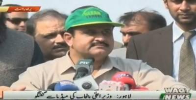 لاہور: وزیراعلٰی پنجاب نے پودا لگا کر کلین اینڈ گرین پاکستان مہم کا افتتاح کردیا