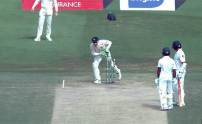 Azhar Ali gets run-out in the most bizarre manner