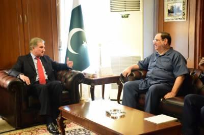وزیر خارجہ شاہ محمود قریشی سے عراقی سفیر کی ملاقات