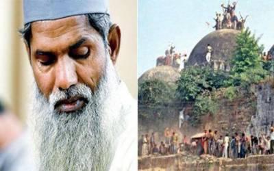 بابری مسجد کو شہید کرنے والے شخص نے 90سے زائد مساجد تعمیر کیں