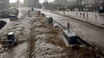 شدید بارشوں اور سیلاب کا دور شروع ہوچکا۔ سائنسدان