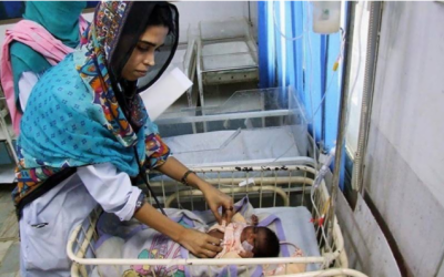 تھر: غذائی قلت اور وائرل انفکیشن سے مزید8 بچے جاں بحق، 12 مہینوں کے دوران بچوں کی ہلاکتوں کی تعداد 534 تک پہنچ گئی