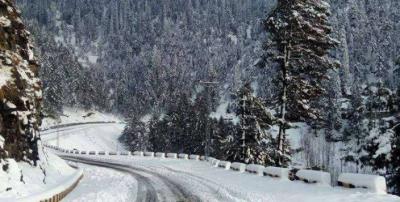 استور : وقفے وقفے سے بارش اور برف باری،کئی مقامات پرزمینی رابطہ منقطع