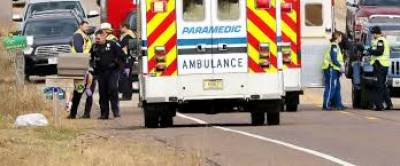 ٹرک کی ٹکر سے3لڑکیوں سمیت 4 افرادہلاک،ایک لڑکی زخمی