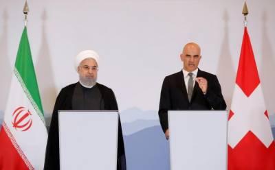 ایران کے خلاف امریکی پابندیوں پر سوئٹزرلینڈ کی مخالفت