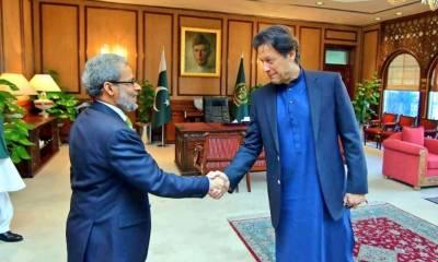وزیراعظم عمران خان سے یمن کے سفیر کی ملاقات