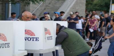 امریکہ کے وسط مدتی انتخابات،ری پبلکن کو سینیٹ،ڈیمو کریٹس کو ایوان نمائندگان میں برتری
