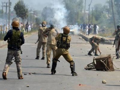 2 نوجوانوں کی شہادت کے بعد وادی بھر میں مظاہرے جاری