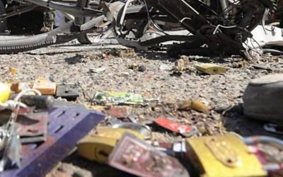 شمالی وزیرستان: موٹر سائیکل دھماکا،1 شخص جاں بحق،4زخمی