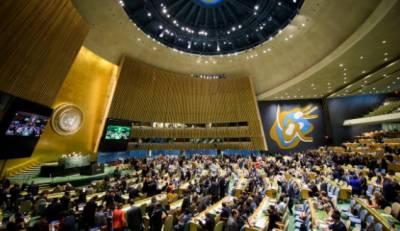 اقوام متحدہ جنرل اسمبلی،فرسٹ کمیٹی میں پاکستان کی پیش کردہ 3قراردادیں منظور