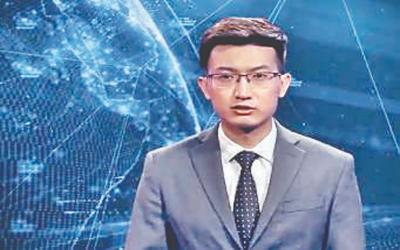 چین کا ایک روبوٹ ٹیلی ویژن کا نیوز اینکر بن گیا۔