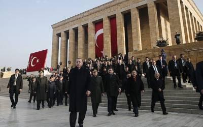 ترکی کے بانی غازی مصطفےٰ کمال اتاترک کی 80 برسی پر طیب اردوان کا خراجِ تحسین