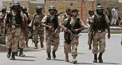 رینجرز کی کراچی کے مختلف علاقوں میں کارروائیاں،19جرائم پیشہ افراد گرفتار