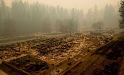 کیلیفورنیا کے شمالی علاقے میں لگی آگ پرقابو نہ پایا جاسکا، ہلاکتیں 29 ہوگئیں