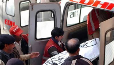 کراچی: ریسٹورنٹ میں جاں بحق ہونے والے بچوں کی نماز جنازہ ادا
