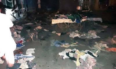 کراچی: قائدآباد میں دھماکے سے 2افراد ہلاک۔10زخمی