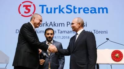 روس کے ساتھ نئی پائپ لائن 2019ءمیں کام شروع کر دے گی. صدر اردوآن