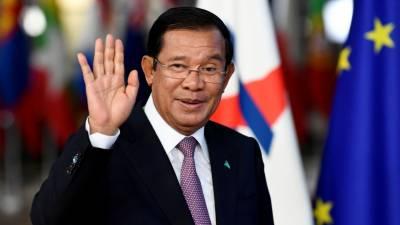 کمبوڈیا میں غیر ملکی فوجی اڈہ بنانے کی اجازت نہیں دیں گے۔ وزیراعظم
