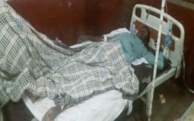 ڈگری کے قریب مزدوروں سے بھرا ٹرک الٹنے سے 80 سے زائد مزدور، بچے اورخواتین زخمی