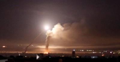 شامی فضائیہ نے اسرائیل کا جنگی طیارہ مار گرایا