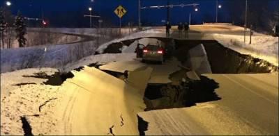امریکی ریاست الاسکا میں زلزلے نے تباہی مچا دی