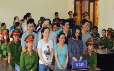ویت نام: ہیروئن سمگلنگ کے جرم میں 9 افراد کو سزائے موت