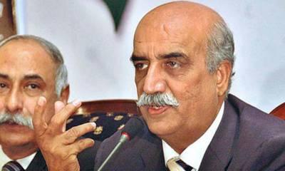 سیاستدان انڈے اور مرغی کی بات کرتے ہیں جس سے پاکستان کا مذاق اڑایا گیا۔خورشید شاہ