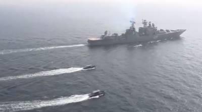 پاکستان اورروس کی شمالی بحیرہ عرب میں بحری مشقیں