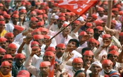 مودی حکومت کی کسان دشمن پالیسیوں کے خلاف ہزاروں کسانوں کی ریلی