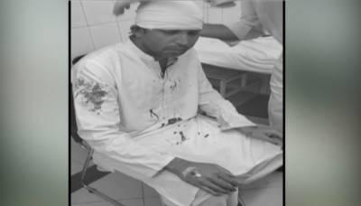 کرکٹر محمد آصف کی گاڑی کو حادثہ