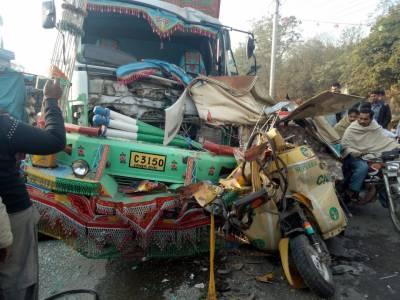وزیرآباد ٹریفک کے تین مختلف حادثات میں دو افراد جاں بحق تین افراد زخمی