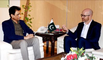نائب صدر فیس بک پیلک پالیسی کی وزیر انفارمیشن ٹیکنالوجی سے ملاقات