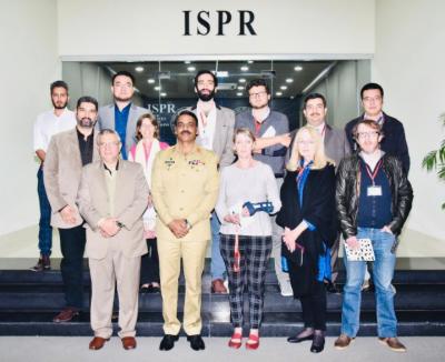 عالمی برادری ہمیں پاکستان میں موجود اپنے رپورٹرز کی نگاہ سے دیکھتی ہے ،ڈی جی آئی ایس پی آر میجر جنرل آصف