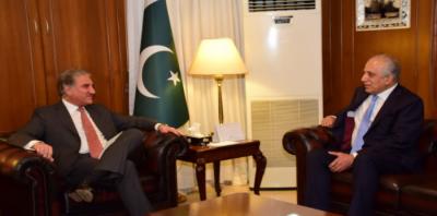 پاکستان افغانستان میں سیاسی مفاہمت کیلئے تعاون جاری رکھے گا،وزیر خارجہ