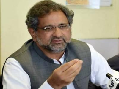 حکومت اپوزیشن کو گندگی گالیاں نکالتی ہے، عمران خان پاکستان کے ٹرمپ ہیں: شاہد خاقان عباسی