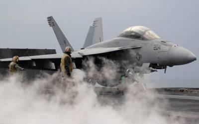 امریکی فوج کے دو طیارے ری فیو لنگ کے دوران تباہ