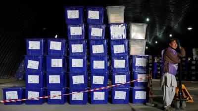 افغان پارلیمانی انتخابات: کابل میں ڈالے گئے تمام ووٹ کالعدم قرار دے دیئے گئے