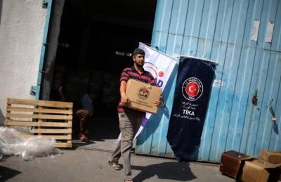 ترکی کا غزہ کے لئے ساڑھے 8 ٹن ادویات کا عطیہ