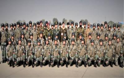 پاک چین مشترکہ مشقوں میں شرکت کیلیے چینی دستہ پاکستان پہنچ گیا
