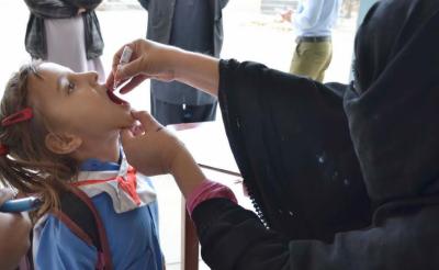 خانہ بدوش اور بھٹہ مزدوروں کے بچوں کے لئے خصوصی انسداد پولیو مہم کا آغاز