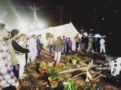 کراچی میں ایم کیو ایم پاکستان کی تقریب میں دھماکا، 6 افراد زخمی